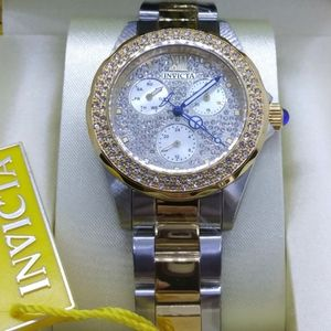 1 LEFT IN STOCK-Invicta Crystal ladies watch